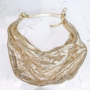 Jana Feifer Original Gold Mesh Sling Shoulder Bag